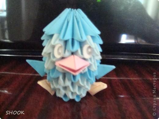 модульное оригами (пингвин) фото 2