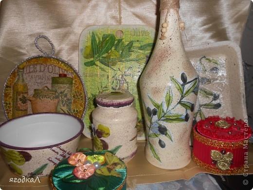 Набор на кухню с оливками фото 1