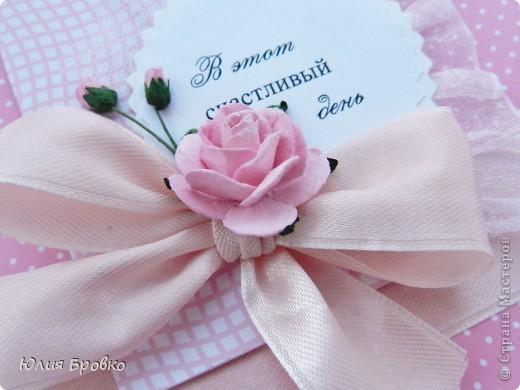Приветик! У меня опять открытуля и опять розовая, ну что поделаешь, нравится мне розовый )) фото 2