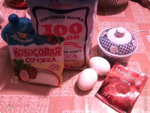 Всем привет!:) Предлагаю испечь оочень вкусный бисквит с кокосовой стружкой и запахом молока....вкусняяятина:) фото 2