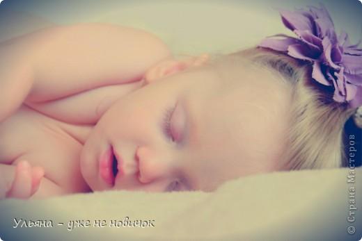 это спит мое младшее солнце - а я на ней тренируюсь, потому что зеркалка фоткает только мои украшалки-лепилки, не порядок))))))))) фото 1