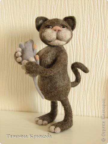 Унесла мышонка кошка.... фото 2
