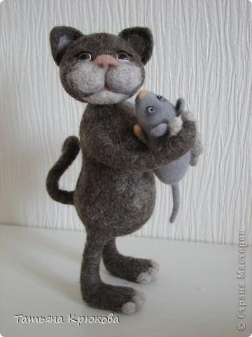 Унесла мышонка кошка.... фото 3
