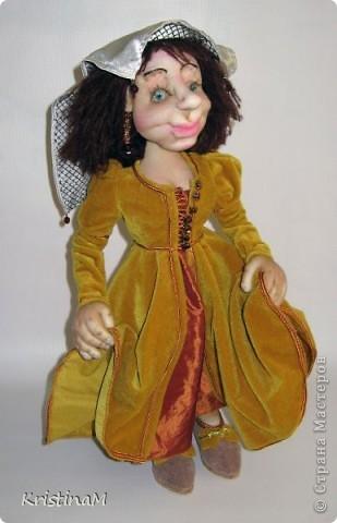 Средневековая дама фото 1