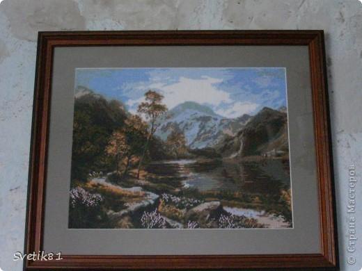Подарила папе на ДР. фотографировала уже у него на стене... не получилось без бликов если ровно... фото 2