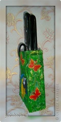 Декупаж бутылочки с росписью. фото 8