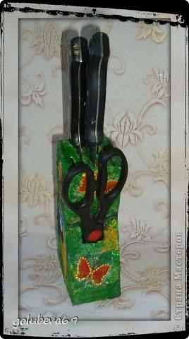 Декупаж бутылочки с росписью. фото 9
