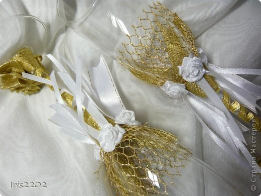 """Свадебные бокалы """"Чудесный день"""" в подарочной упаковке... фото 8"""
