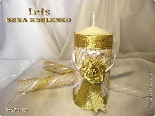 """Свадебные бокалы """"Чудесный день"""" в подарочной упаковке... фото 4"""