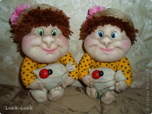 двое из ларца-одинаковых с лица... упитанные получились ребята))) фото 1