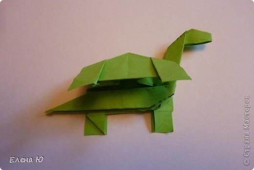 Вот такое семейство бронтозавриков у меня поселилось))) фото 33