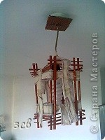 Вот такой светильник в китайском стиле у меня получился. фото 5