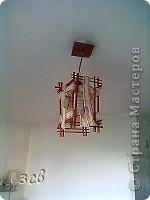Вот такой светильник в китайском стиле у меня получился. фото 1