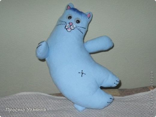 Привет Страна)Этот котик сшит по мини СП с Алисой.Ру,имя ещё не придумала) фото 1