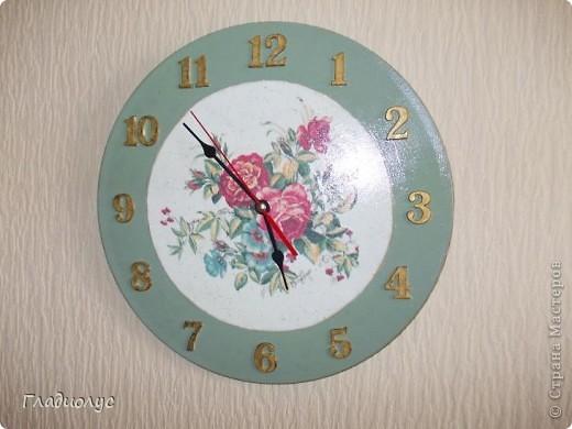 Часы с лейкой..набор получился. фото 2