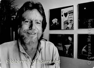 Дэвид Манн (David Mann) является самым известным и популярным художником, рисующим на байкерскую тему.  фото 4
