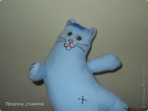 Привет Страна)Этот котик сшит по мини СП с Алисой.Ру,имя ещё не придумала) фото 4