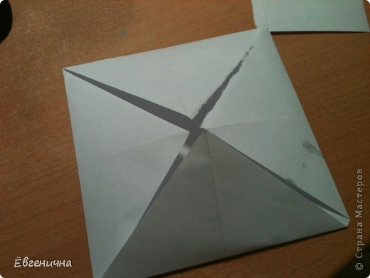 Кувшинка из бумаги фото 4