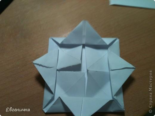 Кувшинка из бумаги фото 6