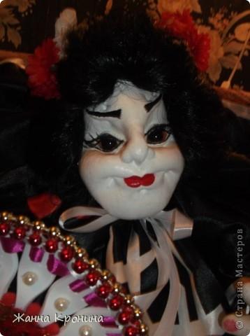 Здравствуйте, мои дорогие мастерицы! Наконец, нашла время сшить куколку- гейшу.Выношу на ваш суд... фото 3