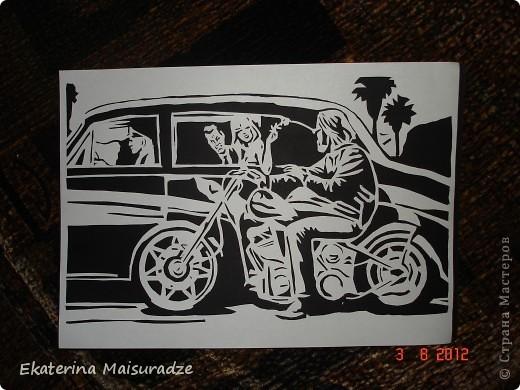 Дэвид Манн (David Mann) является самым известным и популярным художником, рисующим на байкерскую тему.  фото 1
