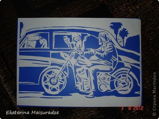 Дэвид Манн (David Mann) является самым известным и популярным художником, рисующим на байкерскую тему.  фото 2