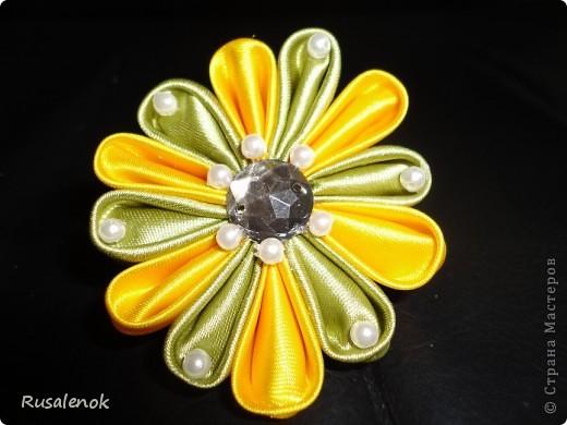 Еще цветочки (заколочки) фото 1