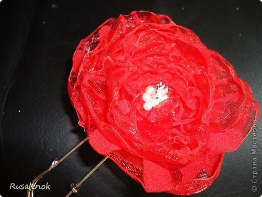 Еще цветочки (заколочки) фото 5