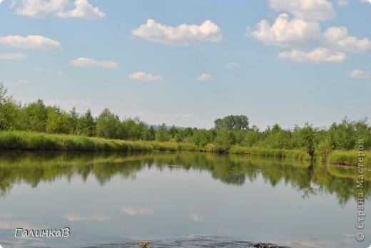 Во время своей поездки на Урал съездили мы в очень живописное место. Это село Косья. Расположено оно в окружении живописных лесистых холмов. фото 4