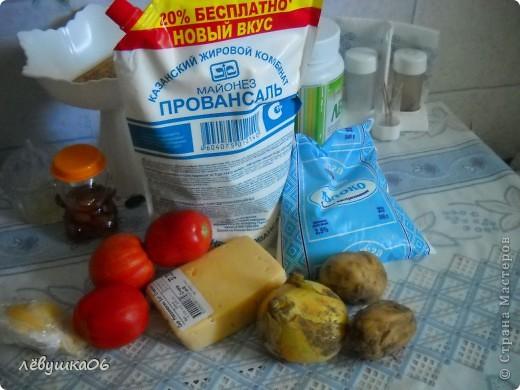 сегодня у нас картофельно -сырная запеканка фото 2