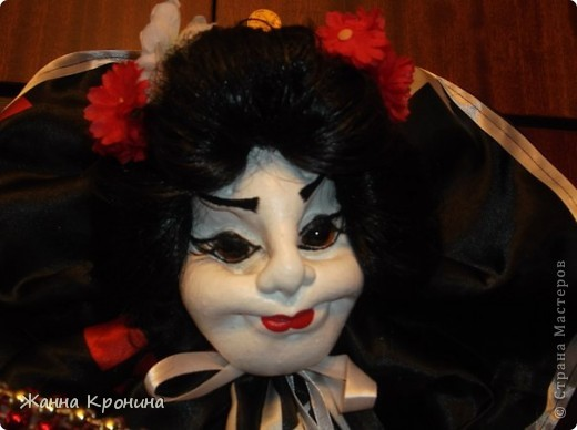 Здравствуйте, мои дорогие мастерицы! Наконец, нашла время сшить куколку- гейшу.Выношу на ваш суд... фото 2
