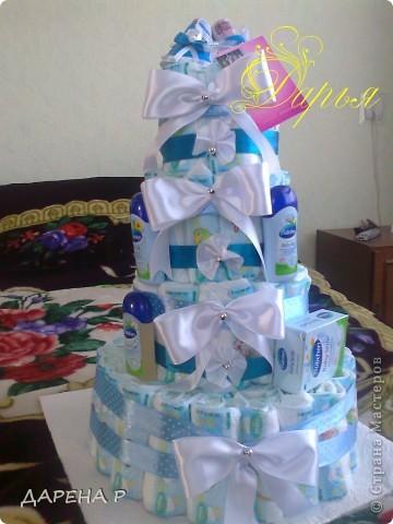 недввно у меня родился очередной племянник... решили порадовать тетю оригинальным подарком... фото 1