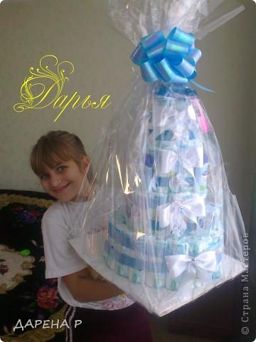 недввно у меня родился очередной племянник... решили порадовать тетю оригинальным подарком... фото 3