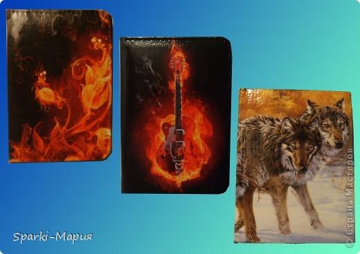 сотворилась вторая партия обложек)))  огненная серия, так сказать.....с волками-это старенький блокнотик фото 1