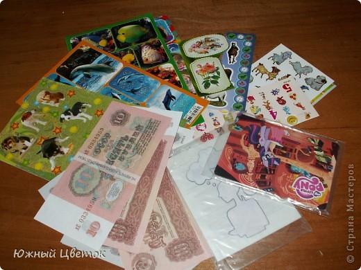 Здравствуйте! Пришла мне посылочка из Москвы от Детсада. Да таааакая огромная!  Такой вот вкусный сюрпризик по тематике игры: шоколадка с кофе, обалденная открытка и мешочек с кофейными зёрнами фото 4