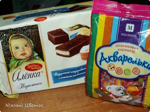 Здравствуйте! Пришла мне посылочка из Москвы от Детсада. Да таааакая огромная!  Такой вот вкусный сюрпризик по тематике игры: шоколадка с кофе, обалденная открытка и мешочек с кофейными зёрнами фото 9