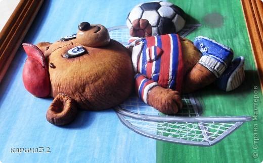 Добрый день дрогие мастерицы! Додела наконец медвежоночка, по картинки художник-иллюстратор Linmida. Пока без лака. фото 8