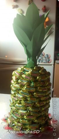 Мой первый ананас... фото 1
