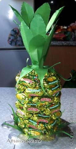 Мой первый ананас... фото 2