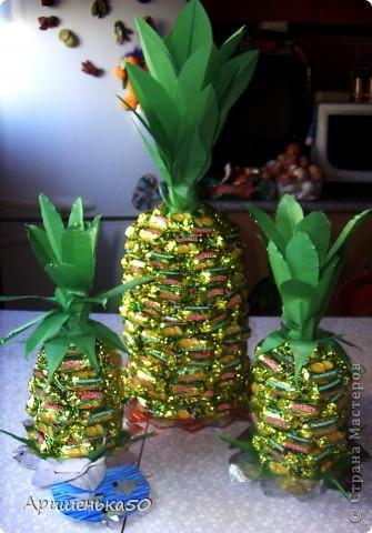 Мой первый ананас... фото 4