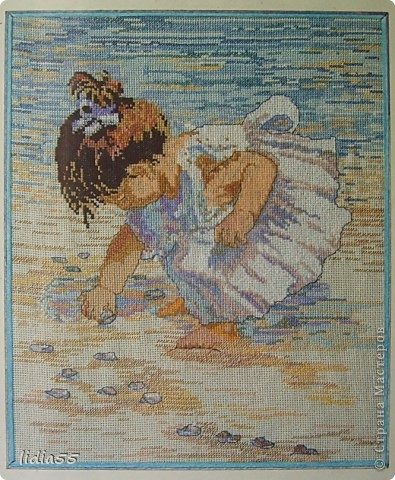 девочка и море фото 1