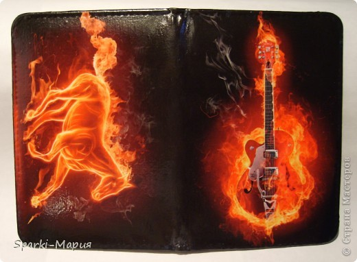 сотворилась вторая партия обложек)))  огненная серия, так сказать.....с волками-это старенький блокнотик фото 7