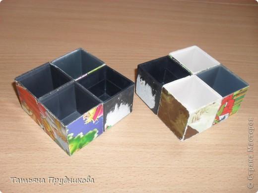 Несколько кубиков на работе оказались испорчены, а выбросить, как обычно, жаль.  фото 1