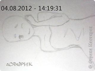 сночала рисуем голову фото 3