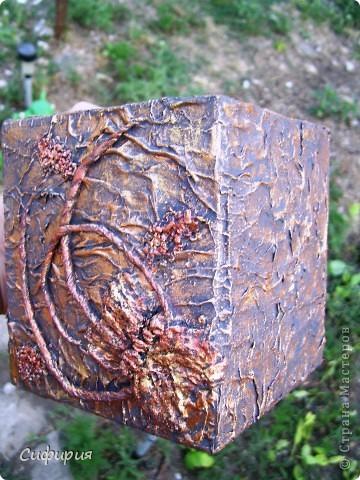 Привет-привет!!! Решила сотворить вот такую вазочку для сухоцвета! Сухоцветы сейчас сохнут, поэтому пока поставила молодые грушевые веточки, уж больно мне понравился ярко-зеленый цвет! фото 5