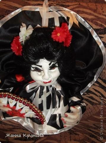 Здравствуйте, мои дорогие мастерицы! Наконец, нашла время сшить куколку- гейшу.Выношу на ваш суд... фото 6