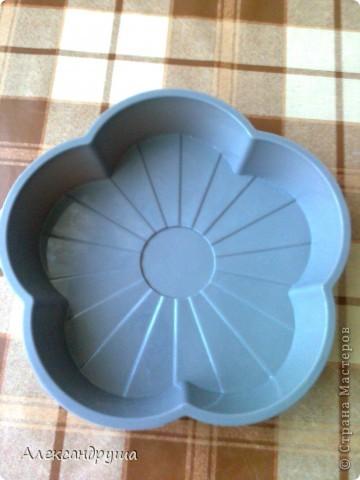 Недавно купила вот такую силиконовую форму для выпечки. Никогда такой посудой не пользовалась, да даже в руках не держала. Я ежедневно пеку хлеб (по одной булке) и в этот день решила испечь в данной форме. фото 8