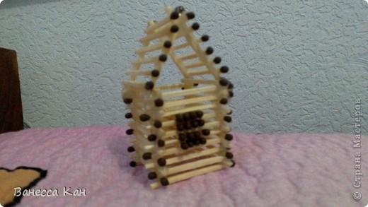 Спичечный домик фото 1