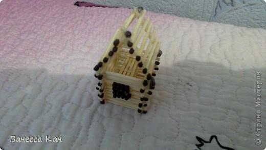 Спичечный домик фото 2