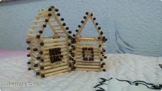 Спичечный домик фото 3
